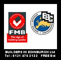 Federation Of Mater Builders Logo, Builders In Edinburgh recommended builders