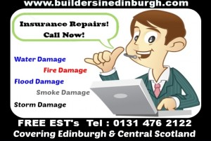 Smoke Damage Repair Restoration - builders in edinburgh