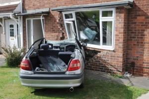 Impact Damage To house- Property Restoration Services, Edinburgh